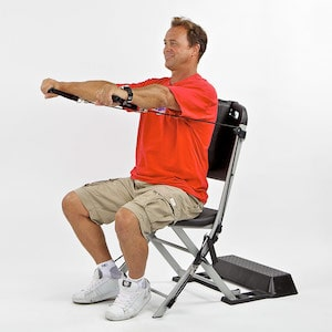 The VQ ActionCare Resistance Chair will help to correct bad posture as well as build strength