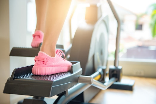 Ellipticals are an excellent option for low-impact cardio, even though they are quite large