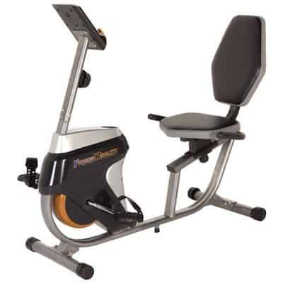 The r4000 recumbent bike from fitness reality is a great cheaper option for low-impact cardio