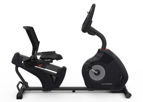 The Schwinn 230 is another great recumbent bike option if you want a mid-range bike