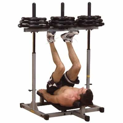 The powerline vertical leg press is well-priced and good quality for a piece of equipment in your home gym