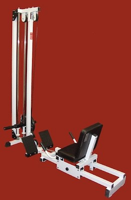 The TDS horizontal leg press isn't a pretty looking machine, but it's out top pick because it's easily the safest option out there.