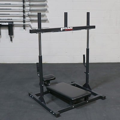 Titan ftiness make a good and solid vertical leg press, which is great quality, but a touch pricey