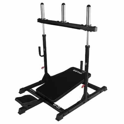 Valor fitness' CC-10 vertical leg press is a sleek and high-quality machine