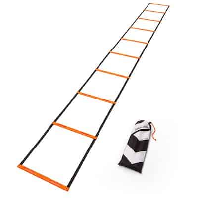 The GOLME pro speed + agility ladder comes in at number 3 on the list - it's simple but sweet