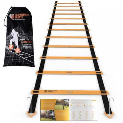The scandinavian sports agility ladder is a quality product