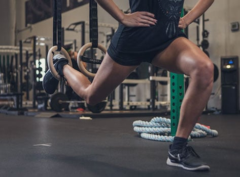 Get great leg workouts along with upper body workouts with the Onnit suspension rings