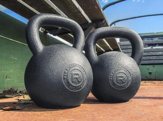 Rogue's kettlebells are as good as you can get if you want a unique upper body workout