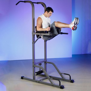 Power towers allow for good quality core exercises, which are a fundamental aspect of upper body workouts