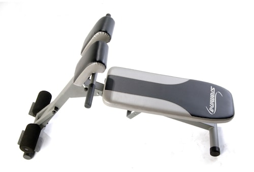 The stamina pro ab/hyper bench is about the best and most versatile ab bench you can get for your home gym