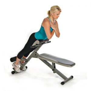 The Stamina pro ab / hyper bench is the best ab bench you can get for your home gym owing to its versatility
