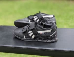 Black and white do-win weight lifting shoes
