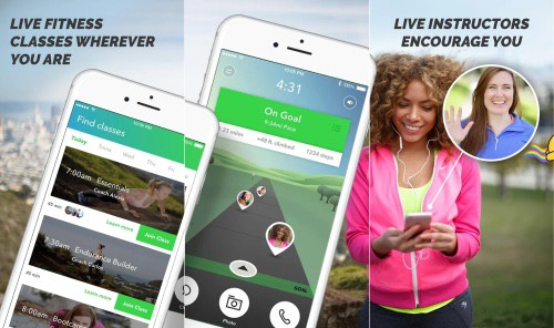 Gixo app has great live workouts and is one of the best fitness apps