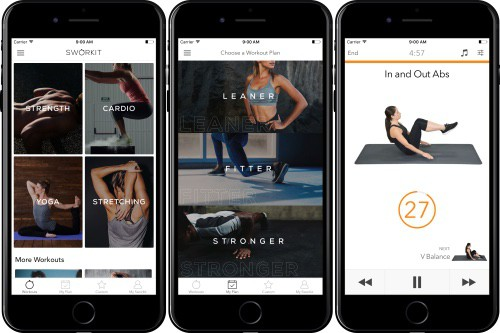 The Sworkit app is a unique take on the standard fitness app - it's truly one of the best
