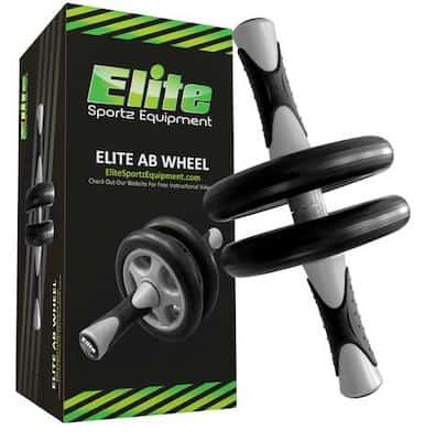 The Elite Sportz ab roller is a different take on this newer piece of equipment