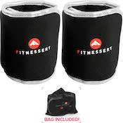 Fitnessery have made some quality wearable ankle weights here. The best budget ankle weights you can get