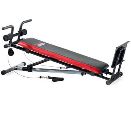 Weider's Ultimate Body Works is a great innovative option that's a perfect compact multi-gym for those who want a little extra for a lot less