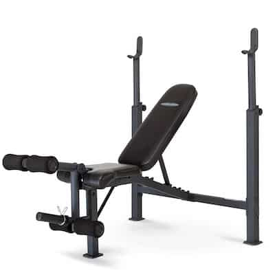 Marcy's competitor Olympic Weight Bench is a great budget option