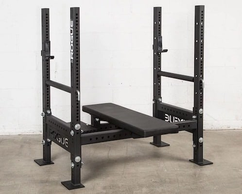 The Rogue Westside bench is the best olympic weight bench you can get currently.