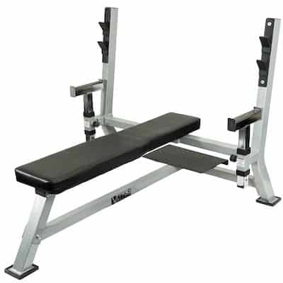 Valor's Olympic Bench Press isn't fancy or cheap, but it is straightforward and good quality
