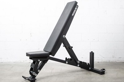 Rogue's adjustable 2.0 FID bench is the best weight bench you can get for your home gym, hands down