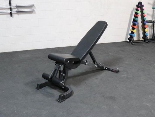 If you're looking for something that's no frills and low cost, then the titan FID bench is perhaps the best weight bench for your home gym