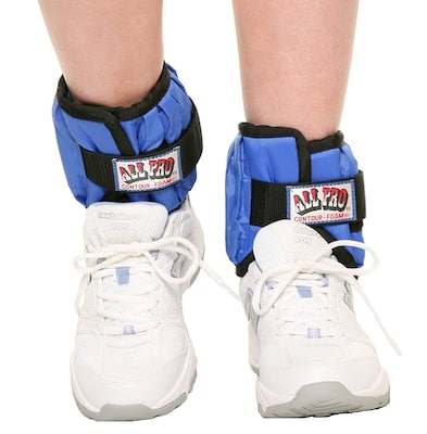 All pro's adjustable ankle weights are ugly, but inexpensive and will do the job