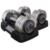 Bayou Fitness' make a great pair of affordable quick-lock dumbbells