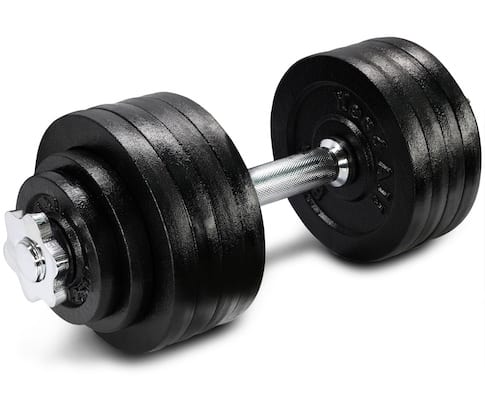 Yes4All's adjustable cast-iron dumbbells are good quality and inexpensive - the best affordable dumbbells you can get