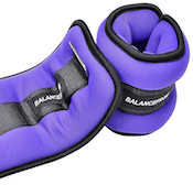 BalanceFrom make a pair of adjustable ankle weights that are great bang for your buck