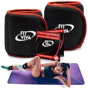 Fit Viva's ankle weights are a solid option for women