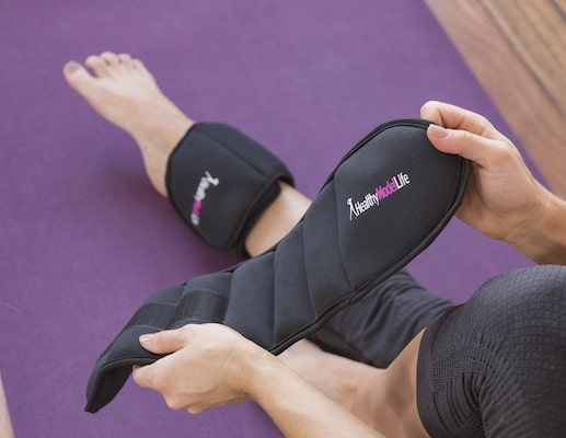 Healthy Model Life's ankle weights are the best ankle weights for women currently available
