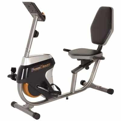 Fitness Reality make a great folding recumbent bike, which is perfect for homes that are short on space