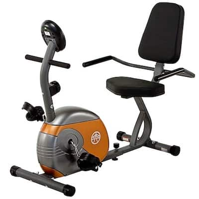 The marcy ME709 is a nother great recumbent bike for home use
