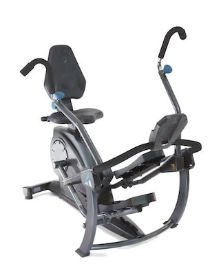 The teeter free step offers something a little different to anyone looking for a recumbent bike with moving arms