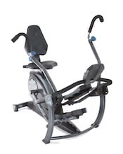 This Free Step from Teeter is a good seated elliptical, and offers something a bit different for anyone looking for the best recumbent bike with moving arms.