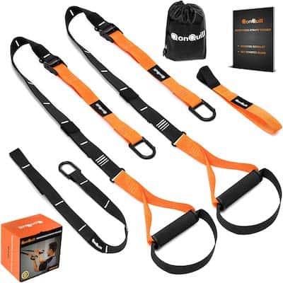 Black and orange Qonquill home suspension trainer
