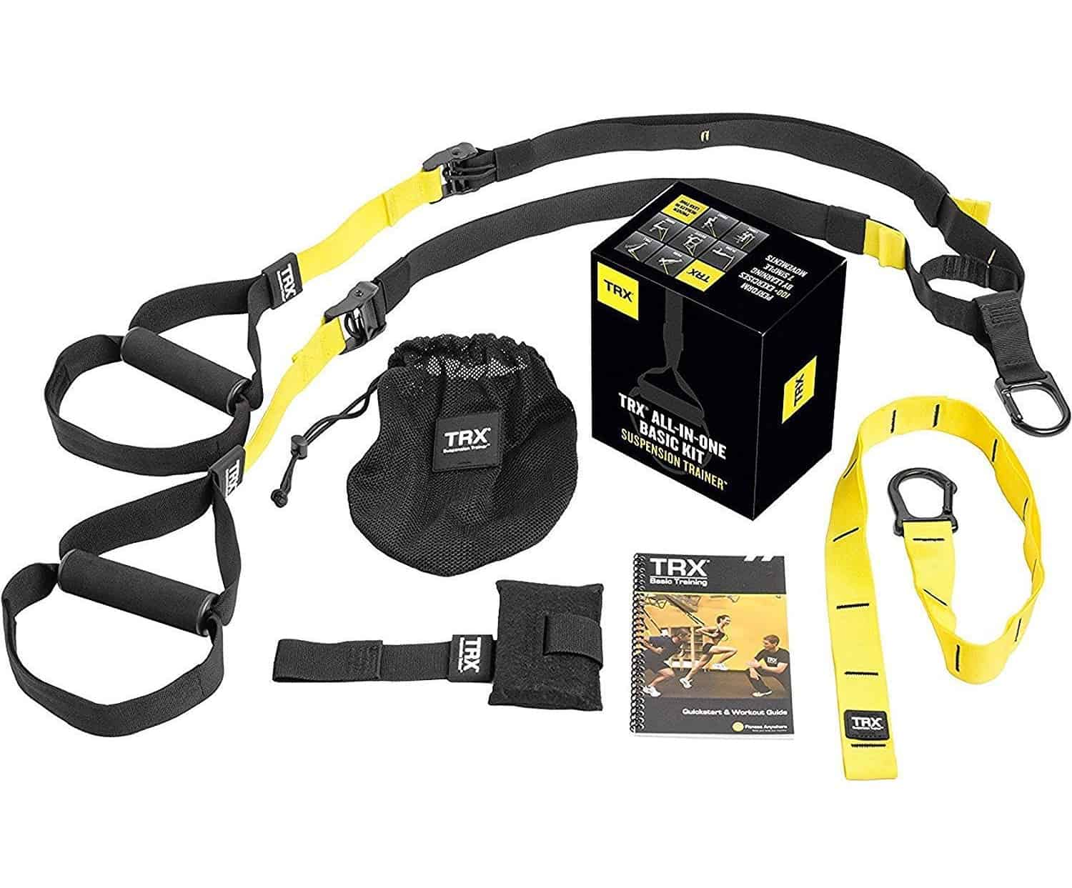 Full kit of the trx all-in-one suspension trainer
