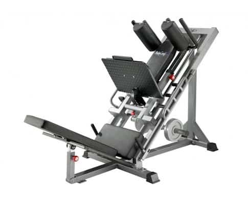 Bodycraft's hip sled / leg press is easily the best hack squat machine currently available