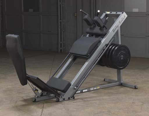 Body-Solid make a great value hack squat machine that offers plenty of features, but won't break the bank