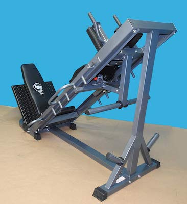 TDS make some great simple exercise equipment, and this hack squat machine is no exception
