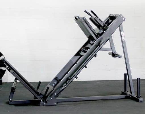 Titan Fitness' offering is the best budget hack squat machine on offer