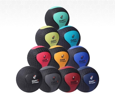 Day 1 fitness make easily the best rubber medicinne ball on the market