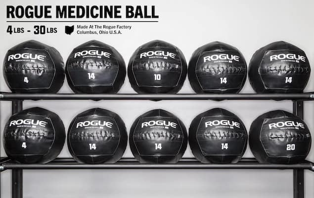 Rogue's medicine balls are the very best quality currently available