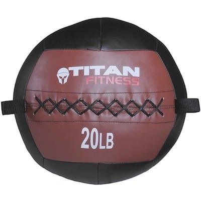 Titan Fitness make a good value, albeit lower-quality medicine ball
