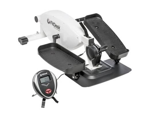 The FitDesk under desk elliptical is one of the best mini ellipticals you can buy