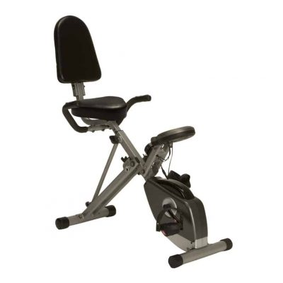Exerpeutic's 400xl recumbent exercise bike is the best folding recumbent exercise bike you can pick up