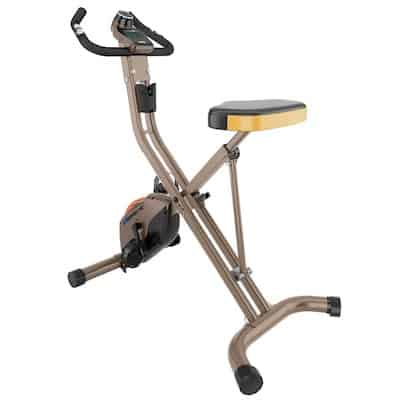 Exerpeutic's 500xls is a stylish and functional folding exercise bike