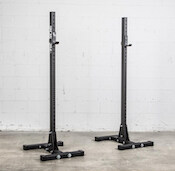 Rogue's S-4 indy stands are great set if squat stands for your home gym
