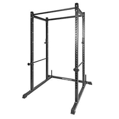 Fringe sport's garage series squat cage is a great budget power rack